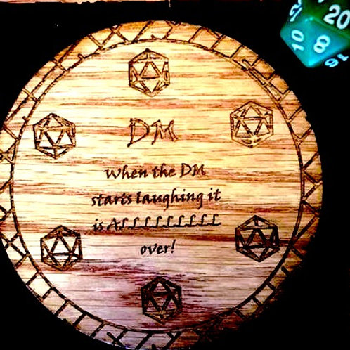 Dungeon Master Coaster