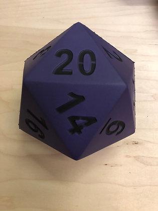 """Purple Foam D20 - 5"""""""