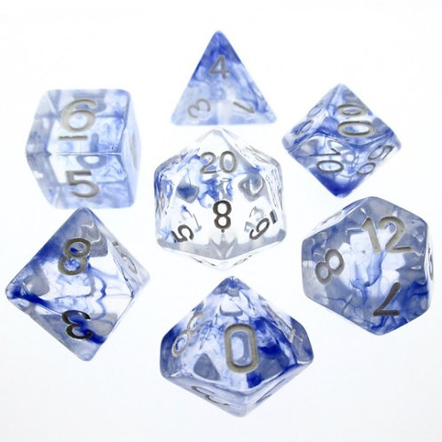 Ice Nebula Dice Set