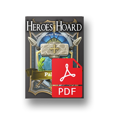 Deck of the Heroes Hoard: Paladin