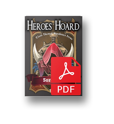 The Decks of the Heroes Hoard: Sorcerer PDF