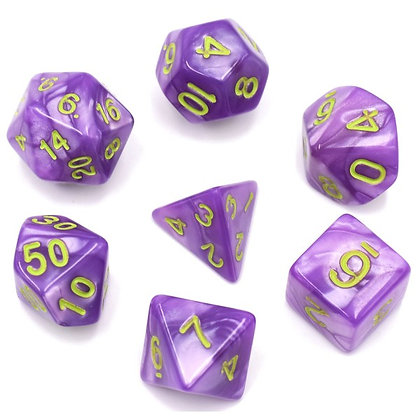 Verbena Dice Set