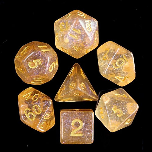 Fire Soul Dice Set