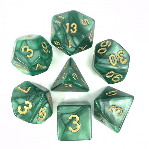 Forest Pearl Dice Set