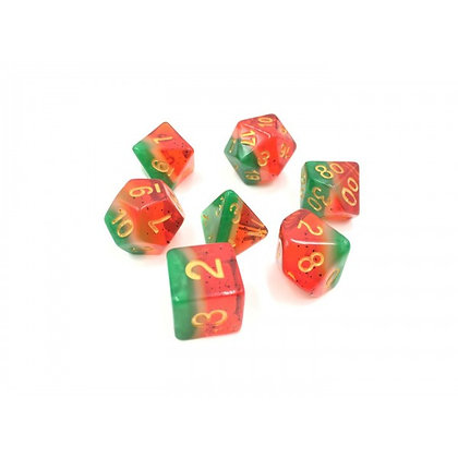 Watermelon Slice Dice Set