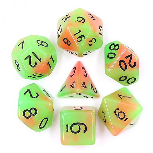 Lime Slice Dice Set
