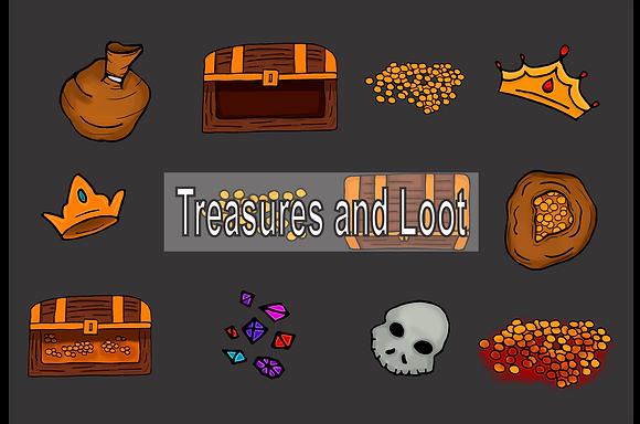 Treasures & Loot Map Assets