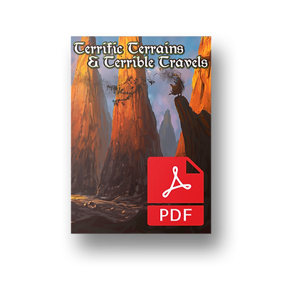 Terrific Terrains and Terrible Travels PDF