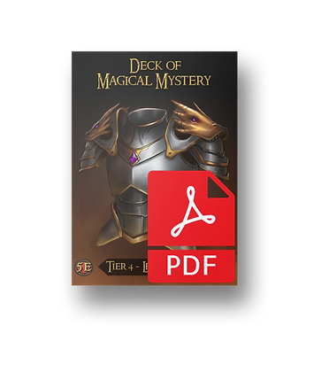 Deck of Magical Mystery: Tier Four
