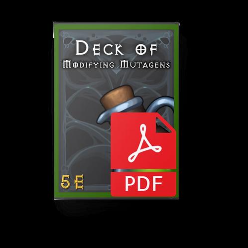 The Deck of Modifying Mutagens PDF