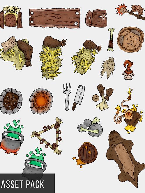 Goblin Lair Map Assets