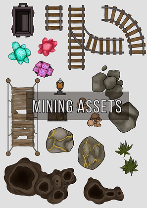 Mine Map Assets
