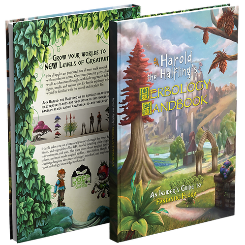 Harold the Halfling's Herbology Handbook