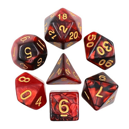 Corrupted Blood Dice Set