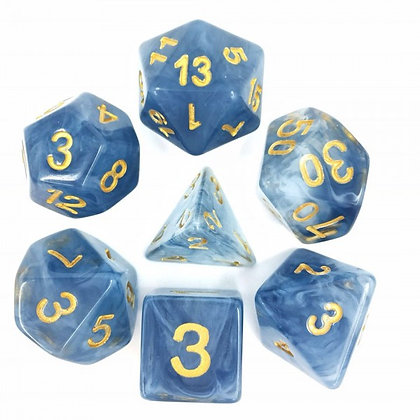 Sea Foam Dice Set