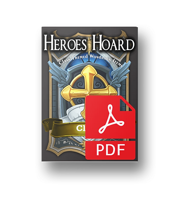 Deck of the Heroes Hoard: Cleric