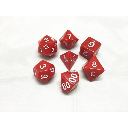 Red Dice Set