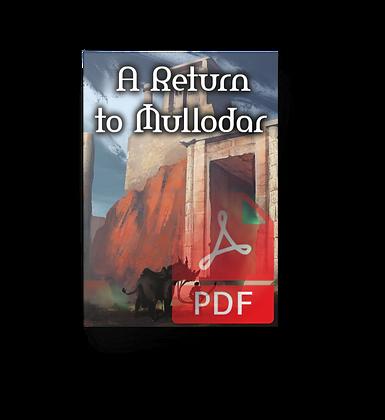 A Return to Mullodar - 5e Dungeon PDF