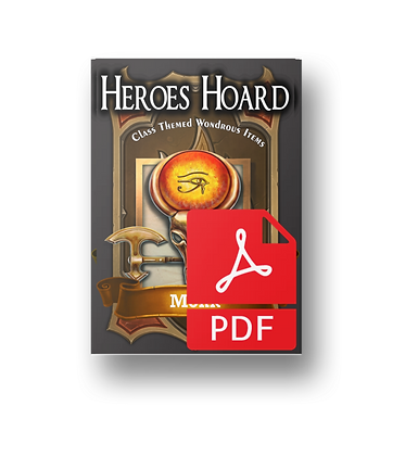 Deck of the Heroes Hoard: Monk