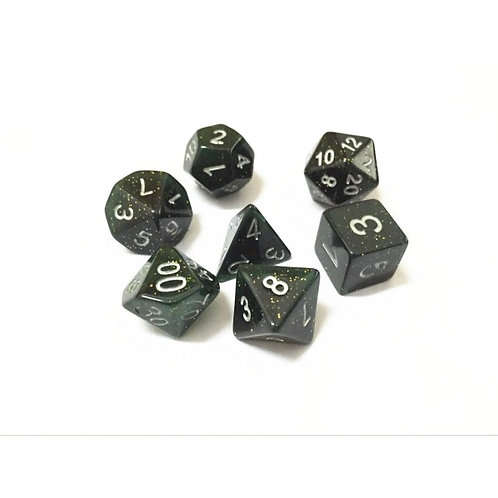 Green Honey Dice Set