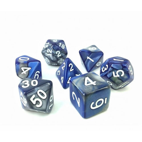 Cold Steel Dice Set