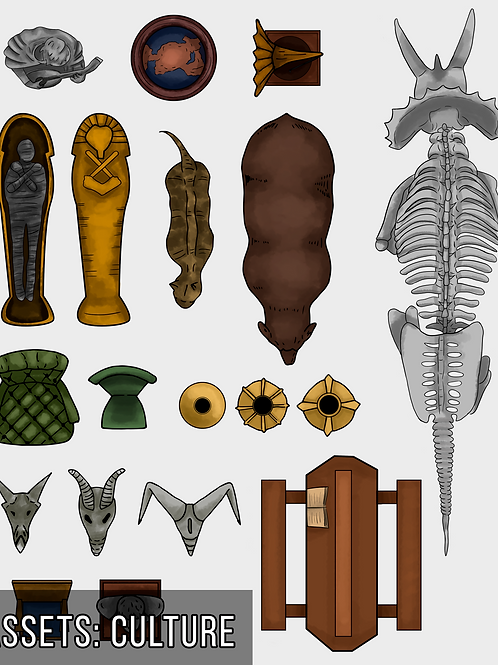 Athropology Map Assets