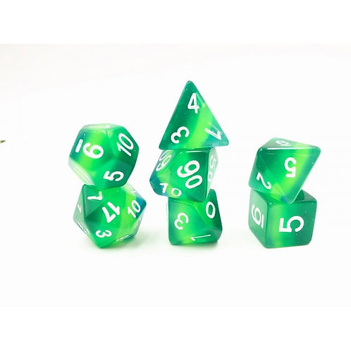 Forest Canopy Dice Set