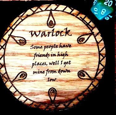 Warlock Coaster