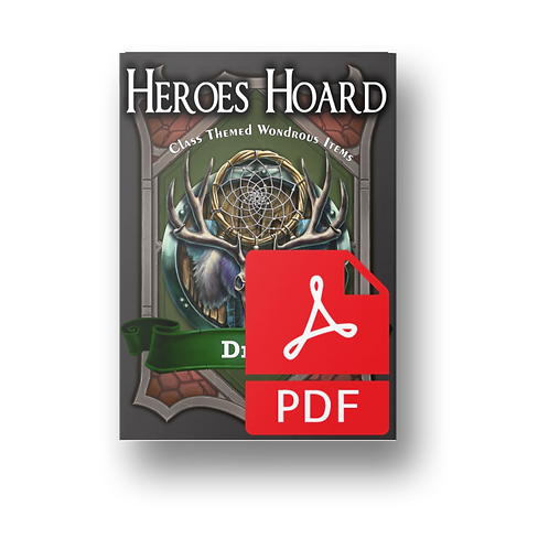 The Decks of the Heroes Hoard: Druid PDF