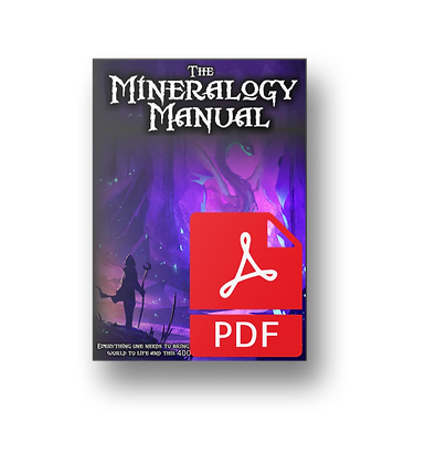 The Mineralogy Manual PDF