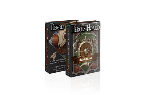 The Decks of the Heroes Hoard: Barbarian