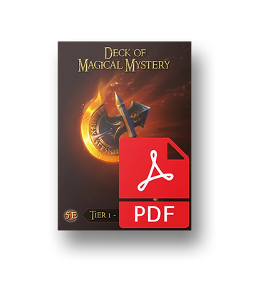 Deck of Magical Mystery: Tier One