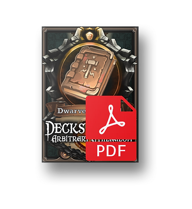 Deck of the Arbitrary Athenaeum - Dwarven Tomes