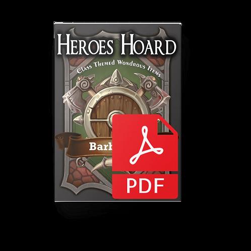 The Decks of the Heroes Hoard: Barbarian PDF