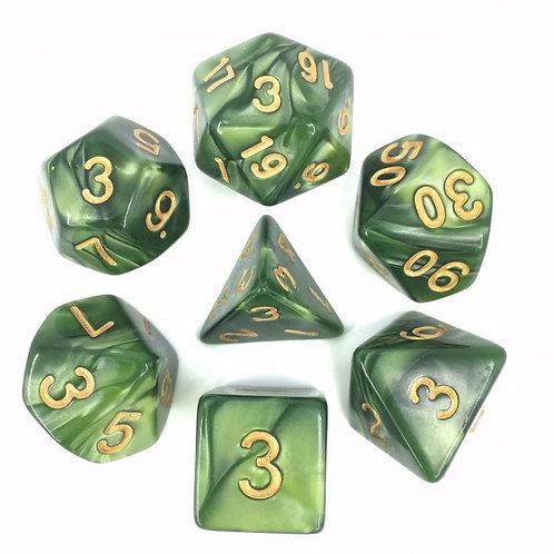 Druids Pearl Dice Set