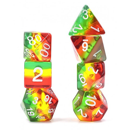 Rasta Dice Set