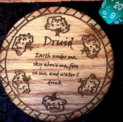 Druid Coaster