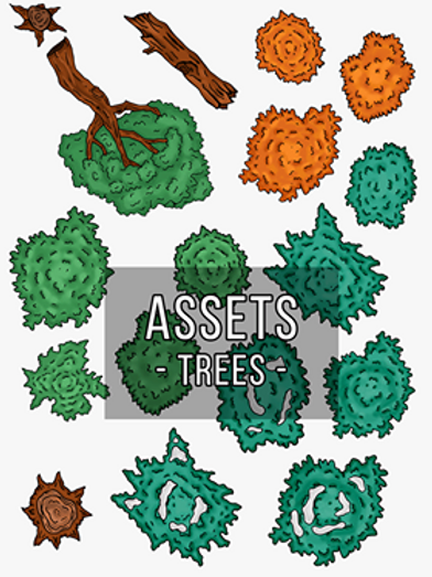 Tree Map Assets