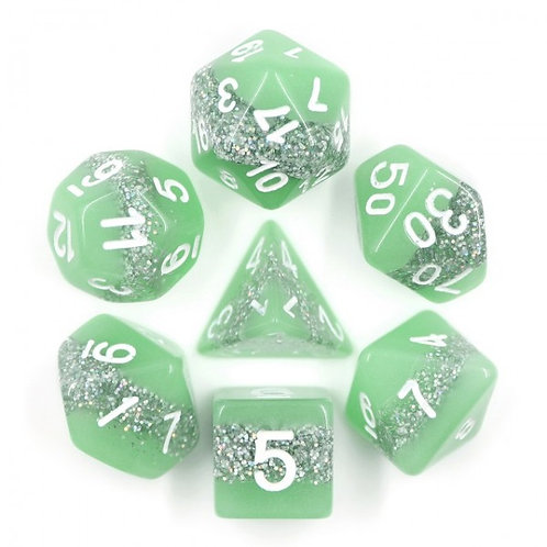 Neon Thunder Dice Set