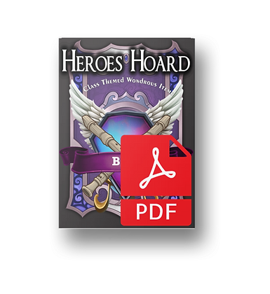 The Decks of the Heroes Hoard: Bard PDF