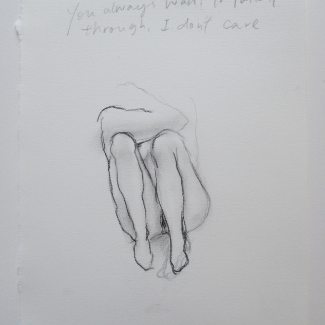 Untitled, 2016, Pencil and pastel on paper