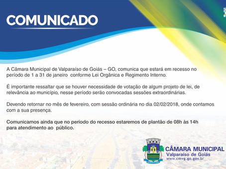 CÂMARA DE VEREADORES DE VALPARAÍSO ENTRA EM RECESSO!!!