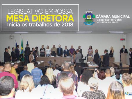 Nova mesa diretora na Câmara de Valparaíso