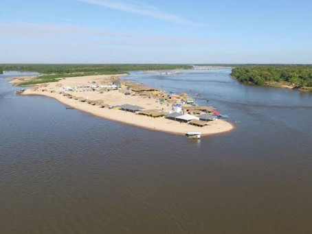 Caiado proíbe acampamento e aglomerações no Rio Araguaia