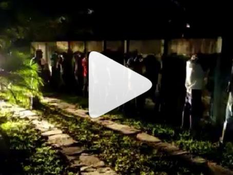 Vídeo, OPERAÇÃO ENCERRA FESTA COM MAIS DE 25O PESSOAS EM CIDADE OCIDENTAL