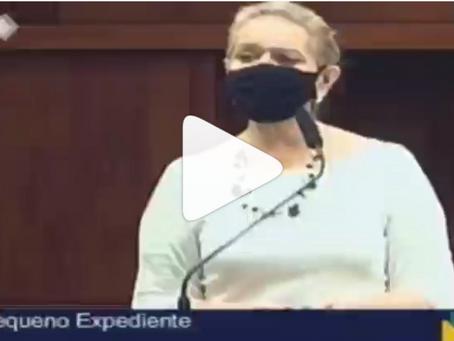 Deputada Lêda Borges se preocupa com o futuro da Saneago