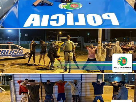 PM DE VALPARAÍSO ACABA COM DIVERSAS FESTAS CLANDESTINAS NO FIM DE SEMANA