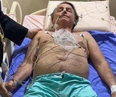 Com obstrução intestinal, Bolsonaro será transferido para São Paulo para cirurgia de emergência