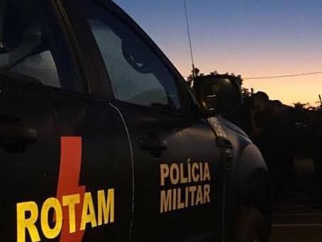EM TROCA DE TIROS, ROTAM LEVA SETE BANDIDOS PARA VALA, UM POLICIAL FICOU FERIDO