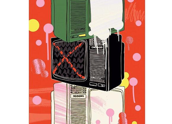 Постеры Тани Ахметгалиевой,формат 59,5 х 83,5